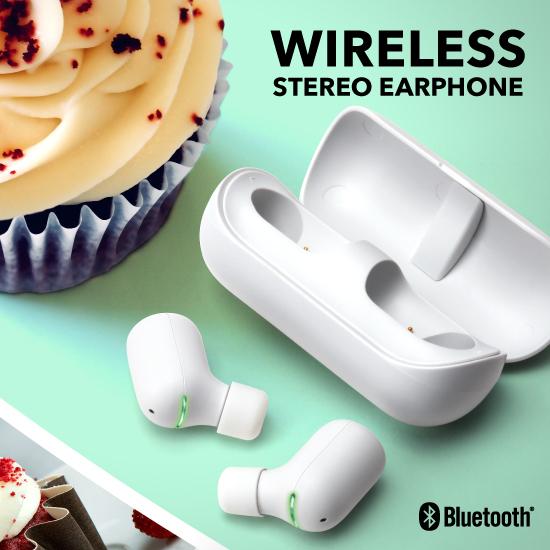 Bluetoothワイヤレスステレオイヤホン
