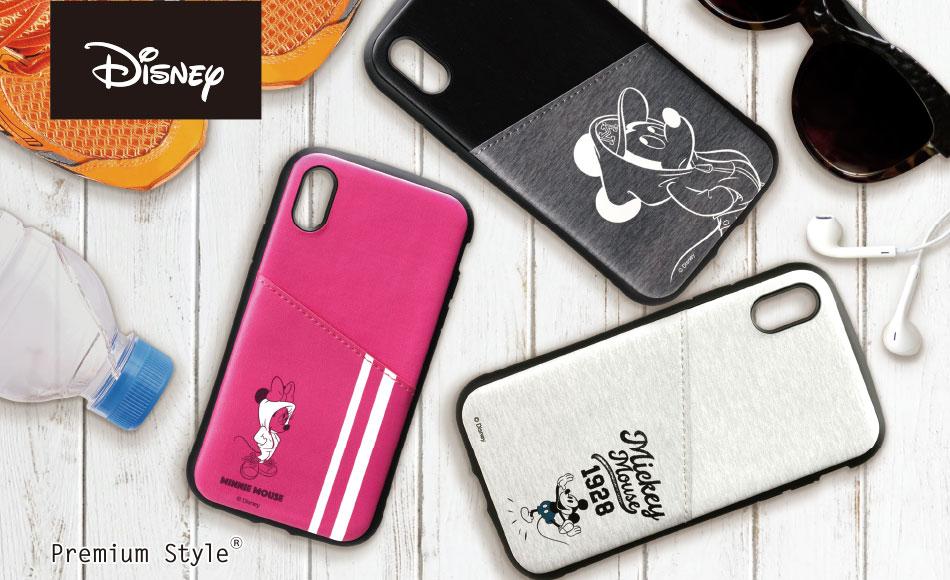 【Disney】iPhone Xs/X/XR用 タフポケットケース